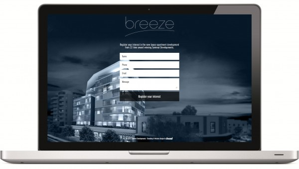 Breeze Apartments Splash Page