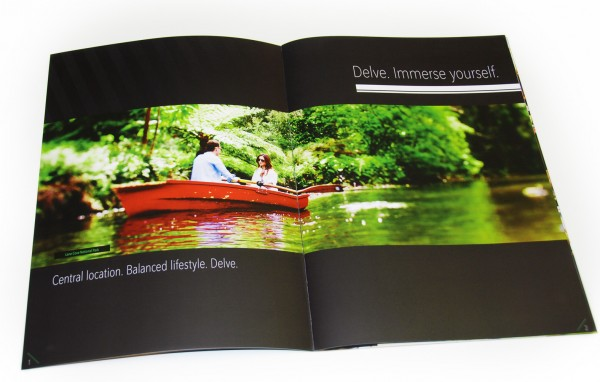 Delve Apartments Book - Opening Spread