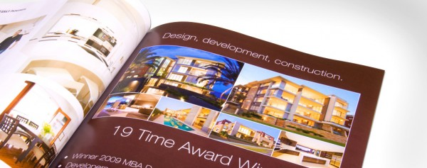 Magazine Ad Design for multi-award-winning luxury apartment developer - Sammut Developments