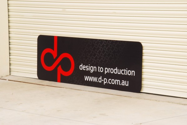 Industrial Design Signage