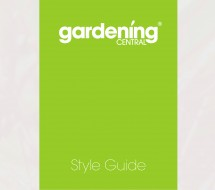 Style Guide Front Cover Design