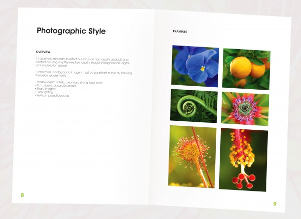 Style Guide Photographic Style